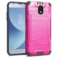 Slim Armor Metallic Design Case For Galaxy J3 Achieve (2018)