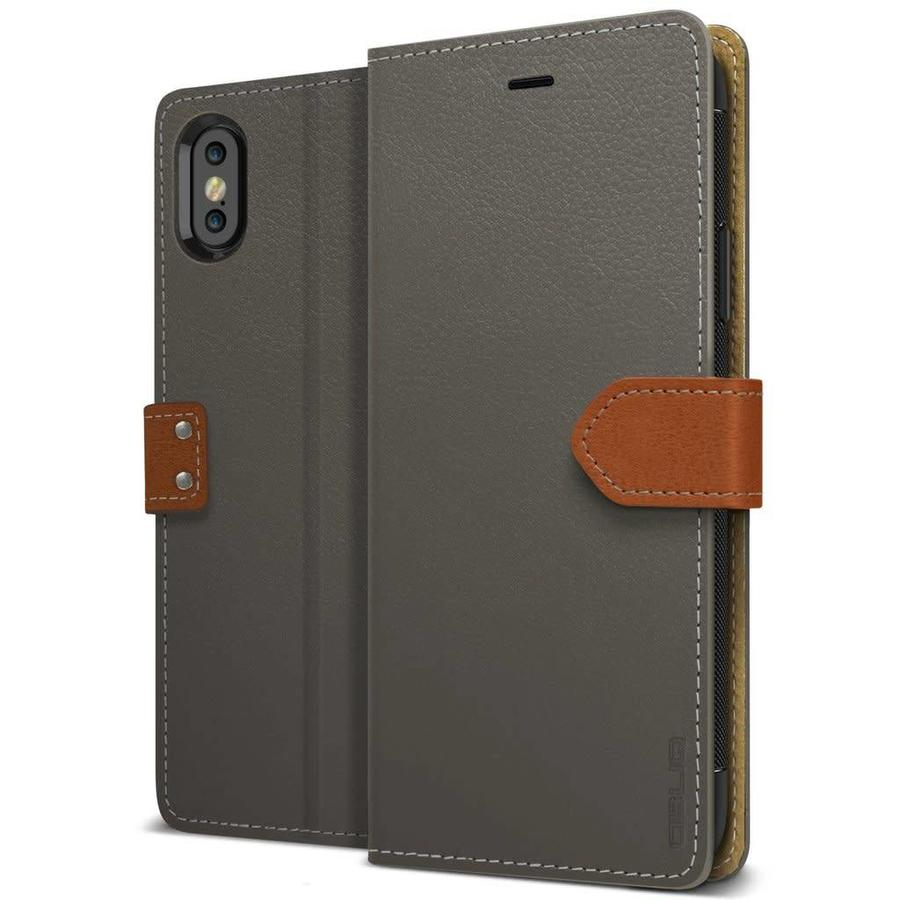 Obliq K1 Italian Leather Wallet Case for iPhone X / XS