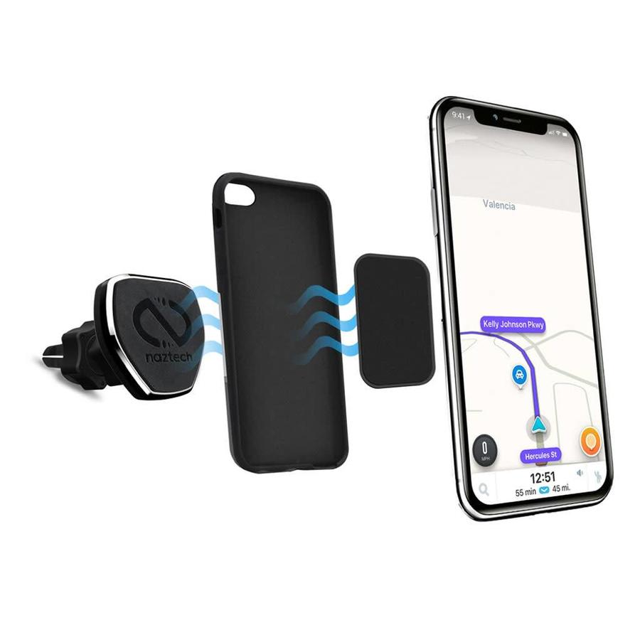 Naztech Magnetic Universal Car Phone Holder / Mount - MagBuddy Vent+