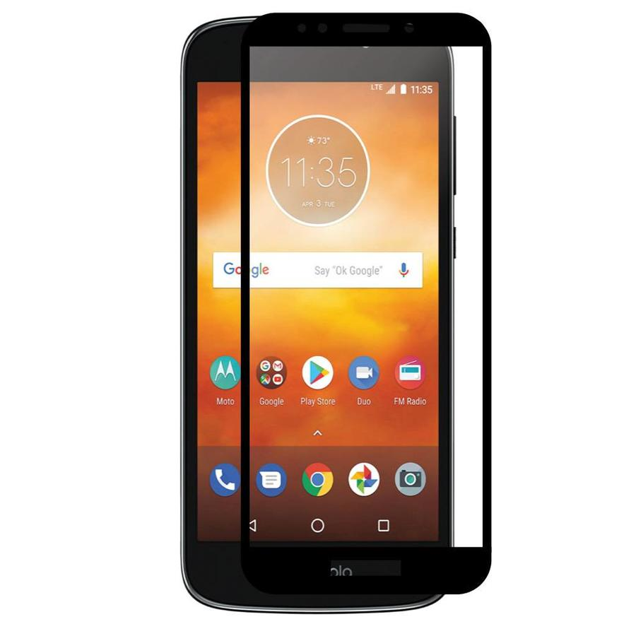 4D Full Cover Tempered Glass for Motorola Moto E5 Play / E5 Cruise