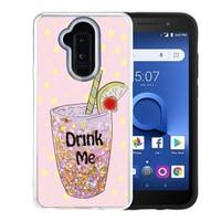 Guardian PC TPU Liquid Quicksand Drink Me Case for Alcatel 7 / Revvl 2 Plus / 7 Folio - Air Art Milkyway