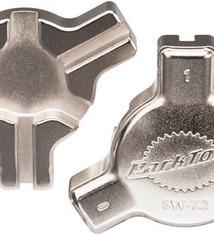 PARK TOOL Park Tool, SW-7.2, Triple spoke wrench, 0.127'', 0.130'', 0.136''