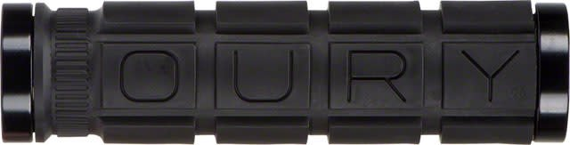 OURY Oury Grips, Lock-On, Grips, 127mm, Black, Pair