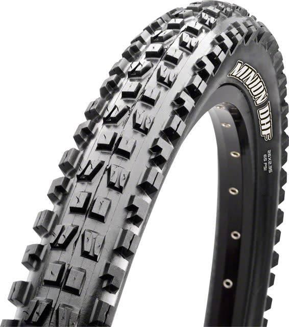 Maxxis Maxxis, Minion DHF, Tire, 29''x2.30, Folding, Tubeless Ready, Dual, EXO, 60TPI, Black