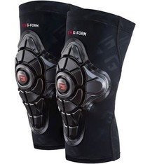 G-Form G-Form, Pro-X, Knee Pads, Unisex, Black, XL