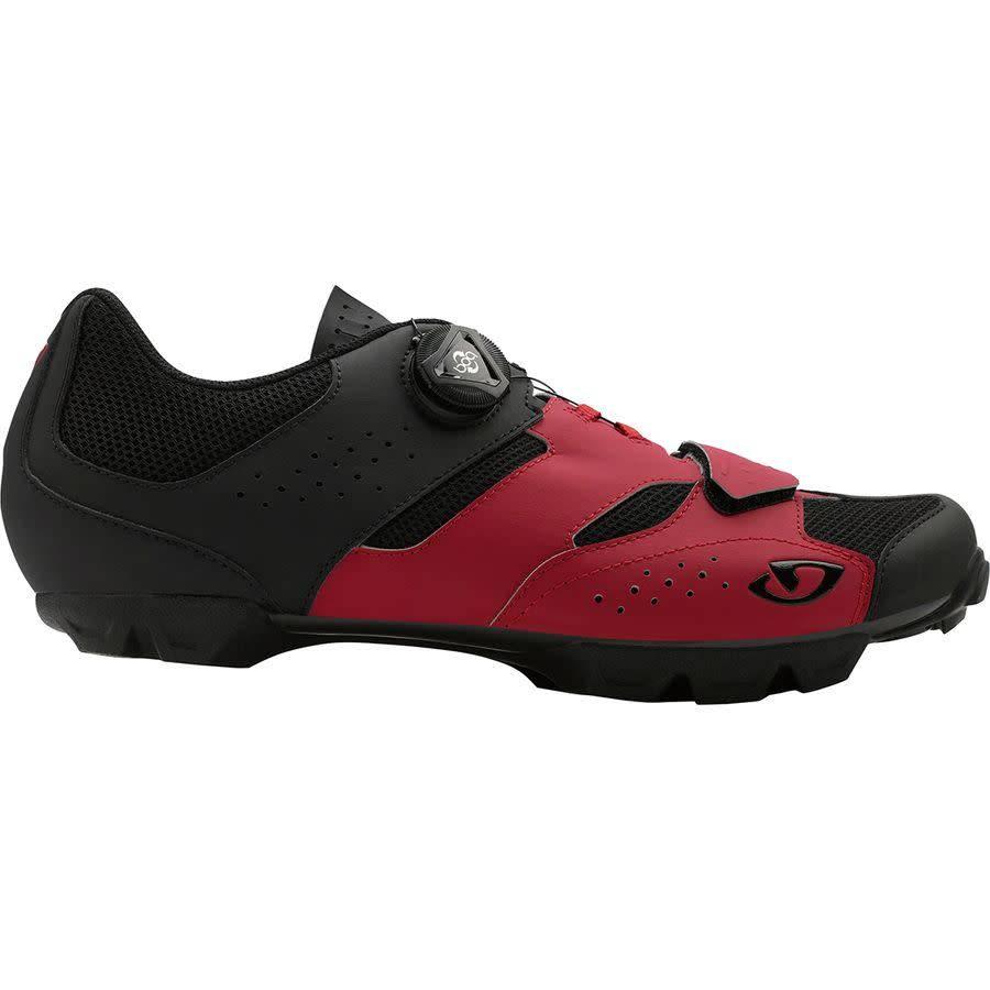 Giro Cycling Giro Cycling Cylinder Mountain Shoe - Dark Red/Black (Adult Size 44)