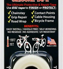 E.S.I. ESI, Silicone Tape Consumers Roll 10 Feet, Clear