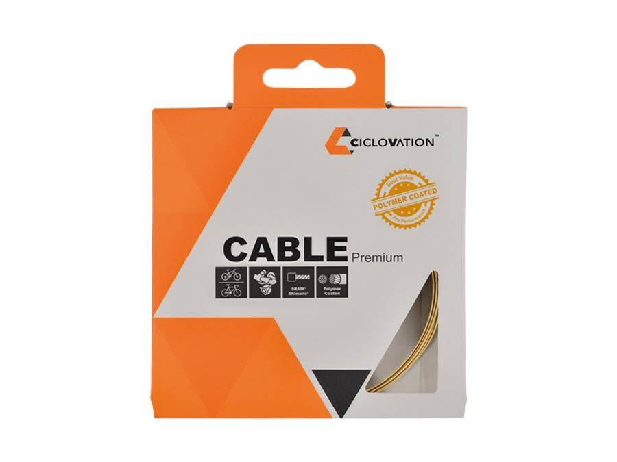 Ciclovation Ciclovation, Shift cable, Stainless steel, Polymer coated, 1.1mm x 2100mm