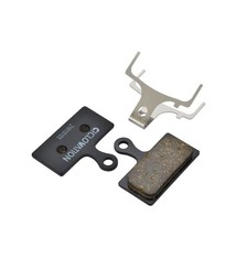 Ciclovation Ciclovation, Advanced Disc, Disc brake pad, Organic, Steel backplate, Shimano G-Type (ex: XTR M985 XT M785)