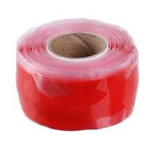 Paradigm Cycle Works Paradigm Stay Guard, .75mm x 25mm x 300cm Roll - Red NLS