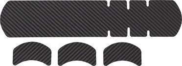 Lizard Skins Lizard Skins Adhesive Bike Protection Large Frame Protector: Carbon Leather