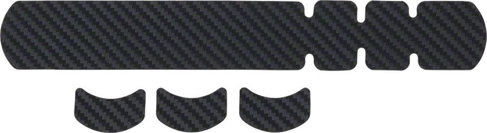 Lizard Skins Lizard Skins Adhesive Bike Protection Small Frame Protector: Carbon Leather