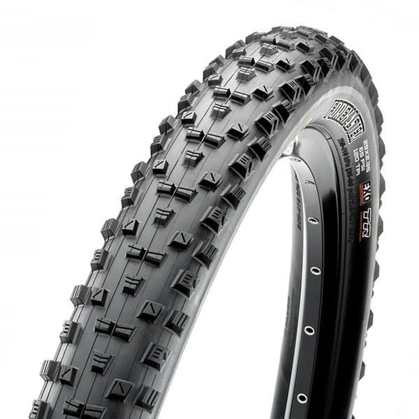 Maxxis Maxxis Forekaster Tire 29 x 2.60, Folding, 120tpi, 3C MaxxSpeed Compound, EXO Protection, Tubeless Ready, Wide Trail, Black