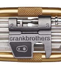Crank Brothers Crank Brothers Multi-17 Mini Tool, Gold