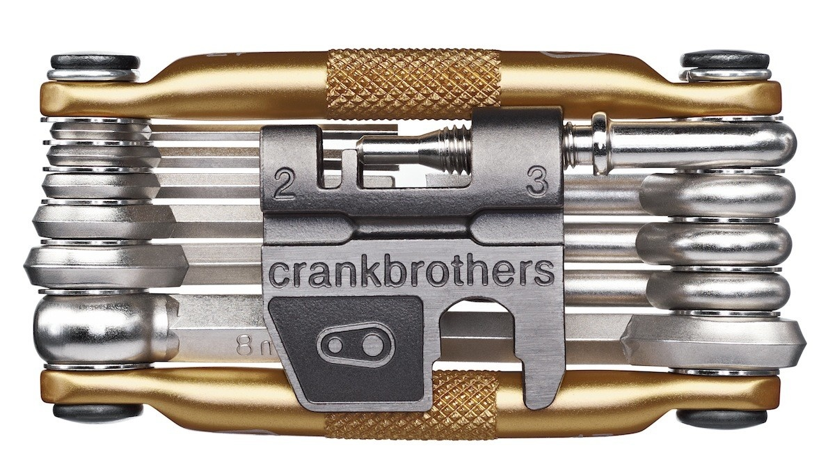 Crank Brothers Crank Brothers Multi-17 Mini Tool, Gold