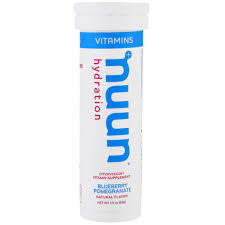 nuun Nuun Vitamins Blueberry Pomegranate