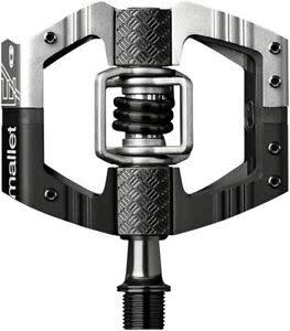 Crank Brothers Crank Brothers Mallet E LS Pedals, Silver/Black