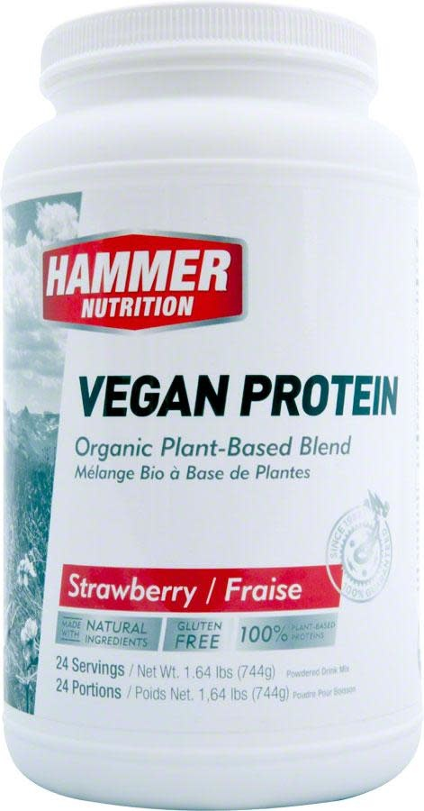 Hammer Nutrition Hammer Vegan Protein Mix: Strawberry 24 Servings