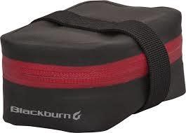 BLACKBURN Blackburn BARRIER MICRO SADDLE BAG BLACK/RED