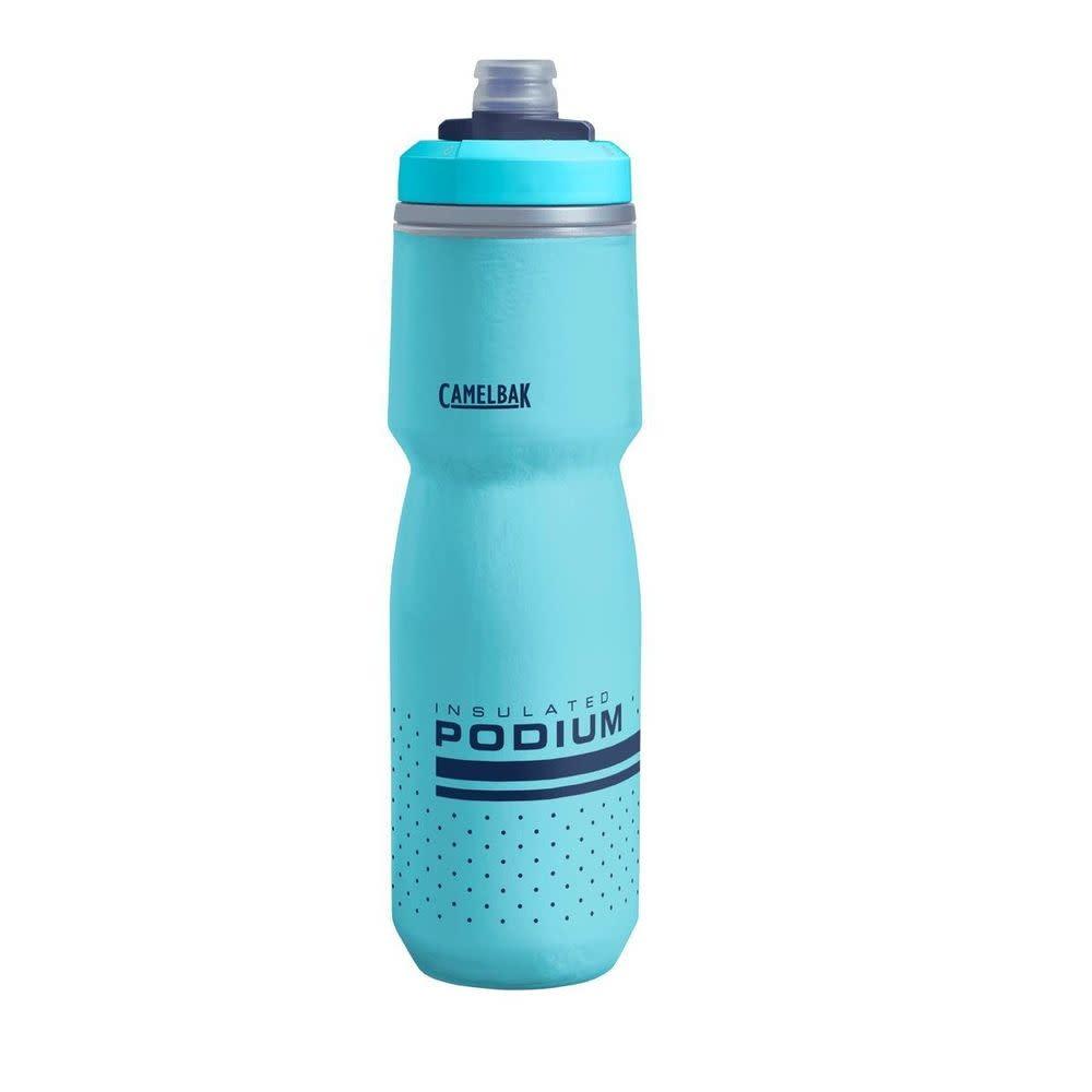 Camelbak Camelbak, Podium Chill 24oz, Water Bottle, 710ml / 24oz, Lake Blue