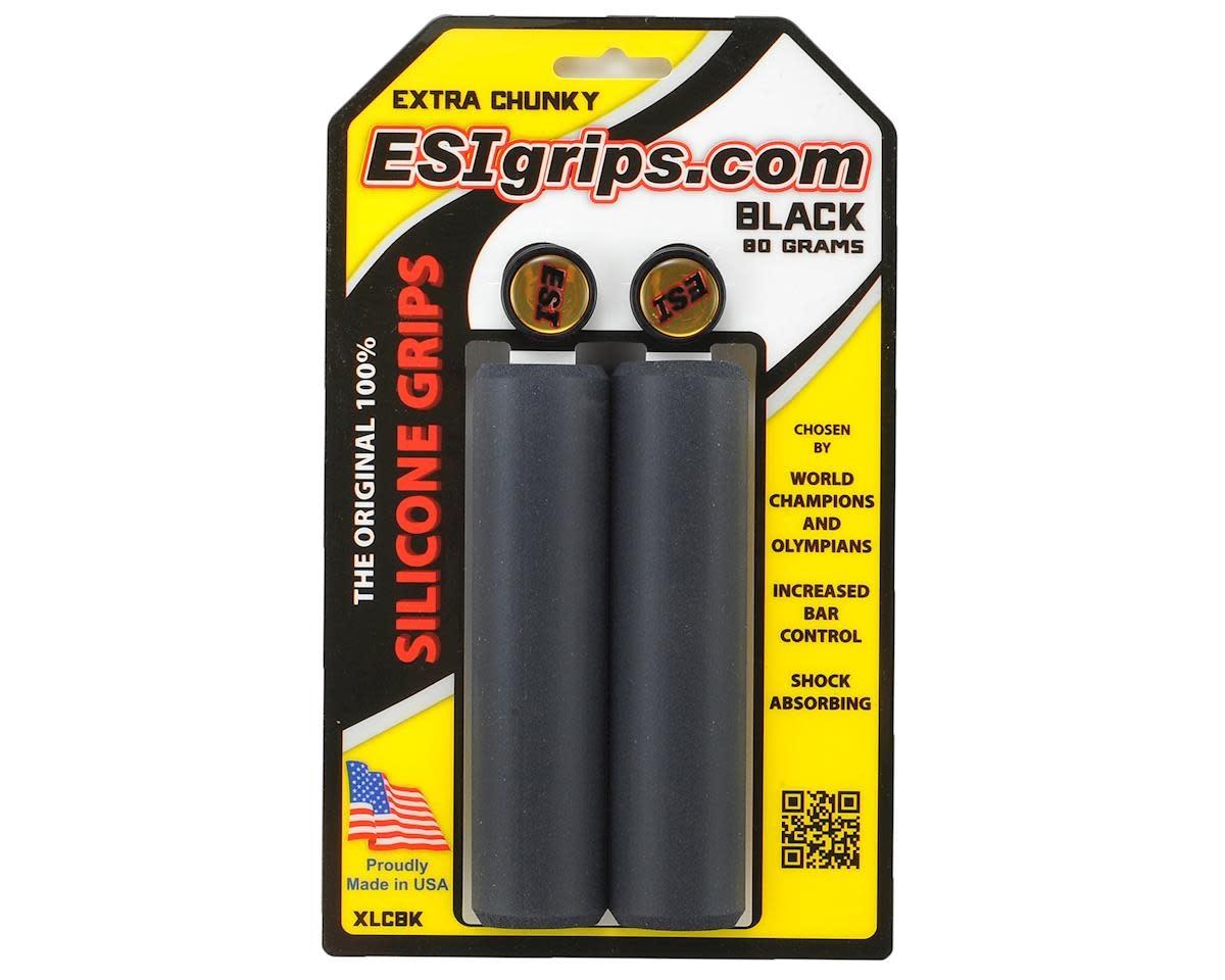 ESI E.S.I., Chunky, Grips, 130mm, Black, Pair