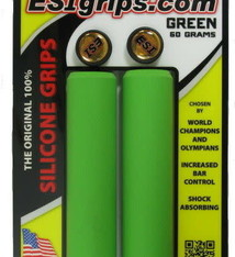 ESI E.S.I., Chunky, Grips, 130mm, Green, Pair