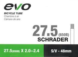 EVO EVO, Inner tube, Schrader, 48mm, 27.5x2.00-2.40