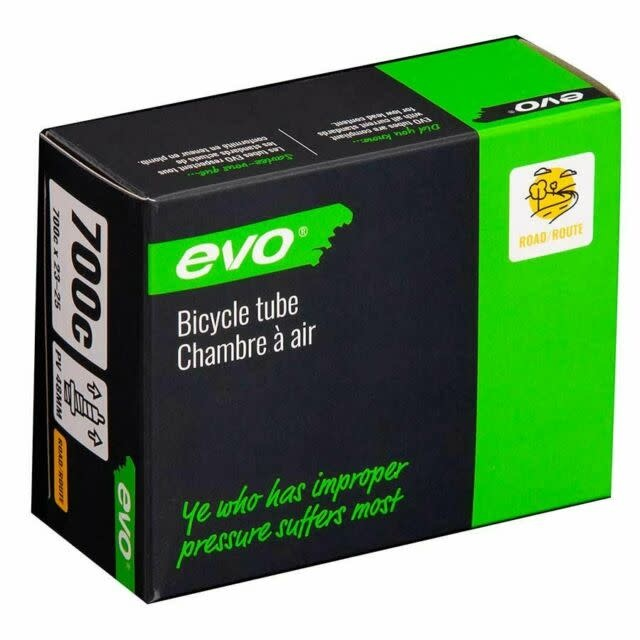 EVO EVO, Presta, Tube, Presta, Length: 80mm, 700C, 23-25C