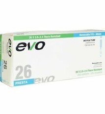 EVO EVO, Thorn Resistant/Removable Core, Inner tube, PV, 48mm, 26x2.00-2.40