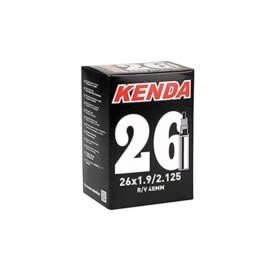Kenda Kenda, Presta-Removable Valve Core, Tube, Presta, Length: 60mm, 27.5'', 2.00-2.40