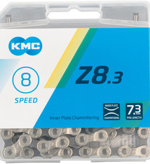 KMC KMC, Z8.3, Chain, Speed: 6/7/8, 7.3mm, Links: 116, Silver