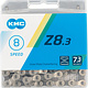 KMC KMC, Z8.3, Chain, Speed: 6/7/8, 7.3mm, Links: 116, Silver