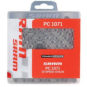 SRAM SRAM, PC-1071 hollow pin, 10sp chain, 114 links, Powerlock