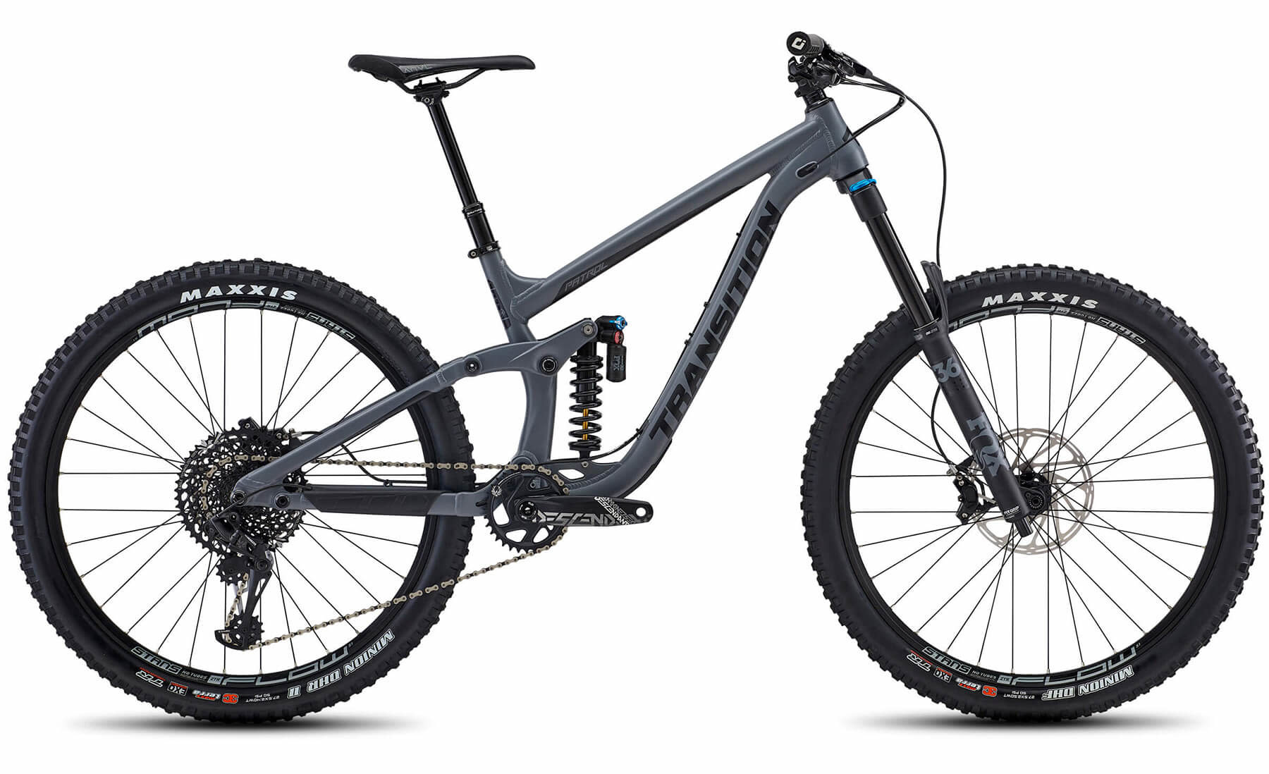 Transition Patrol Alloy GX (Small, TR Grey)
