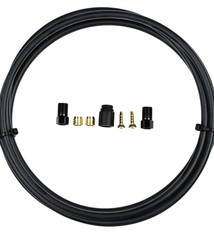 TRP Hose Replacement Kit with Fittings, 1800mm Black NLA