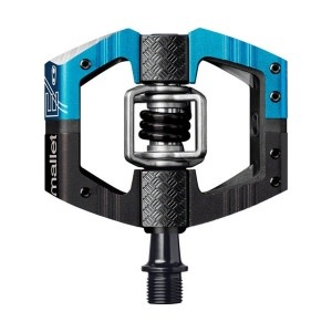 Crankbrothers Crank Brothers, Mallet E LS, Clipless Pedals, Aluminium/Composite body, Cr-Mo axle, 9/16'', Blue