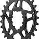 Wolf Tooth Wolf Tooth Elliptical Direct Mount Chainring - 28t, SRAM Direct Mount, Drop-Stop, For SRAM 3-Bolt Boost Cranksets, 3mm Offset, Black