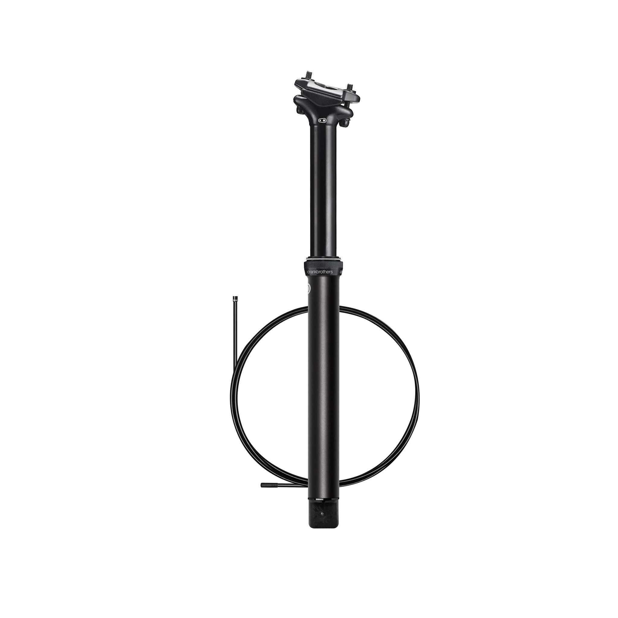 Crank Brothers Highline 3 Dropper Post, (125) 31.6 x 421mm - Black