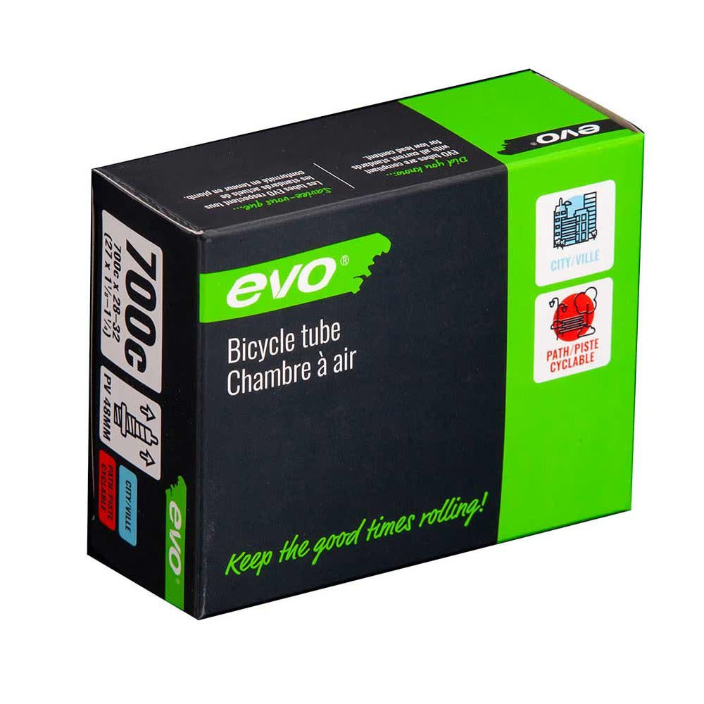 EVO EVO, Presta, Tube, Length: 48mm, 700C, 28-32C