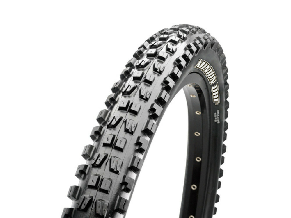 Maxxis Maxxis, Minion DHF, Tire, 27.5''x2.50, Folding, Tubeless Ready, 3C Maxx Terra, EXO+, Wide Trail, 120TPI, Black