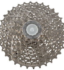Shimano Shimano Alivio CS-HG400 Cassette - 9 Speed, 11-34t, Silver, Nickel Plated