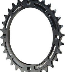 Race Face Race Face, Narrow Wide 104mm BCD, 30T Chainring, 9-12sp, BCD: 104, 7075-T6 Aluminum, Black