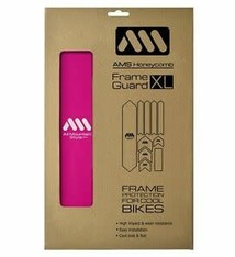 All Mountain Style Extra Honeycomb Frame Guard, Magenta/White
