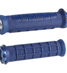ODI Lock-On MTB Bonus Pack, Elite Pro - Navy Blue