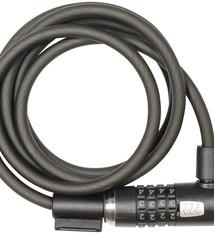 Kryptonite Kryptonite, KryptoFlex 1230, Cable lock, Combination, 12mm, 300cm, 9.8', Black
