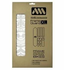 All Mountain Style Extra Honeycomb Frame Guard, Maori/White