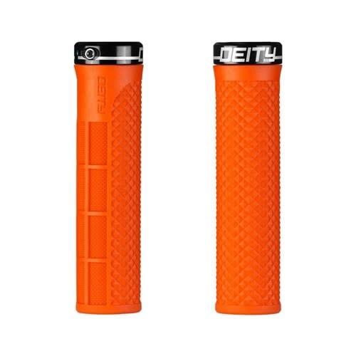 Deity Lockjaw Grips - Orange