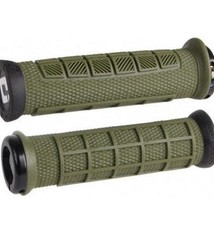 ODI Lock-On MTB Bonus Pack, Elite Pro - Army Green