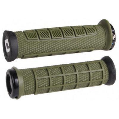 ODI Lock-On MTB Bonus Pack, Elite Pro - Army Green