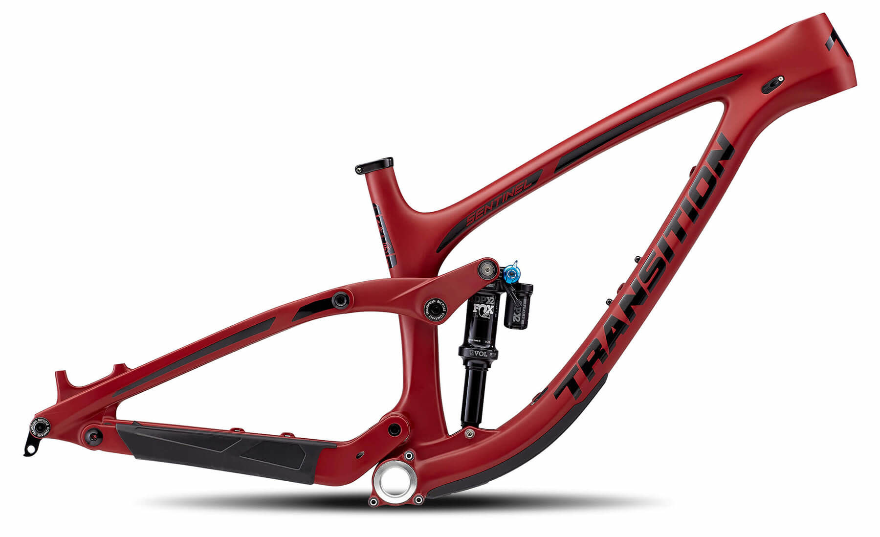 Transition Frameset: Sentinel Carbon (X-Large, Pinot Noir Red)